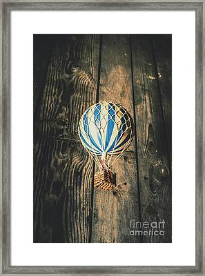 Airs Of An Indoor Retreat Framed Print