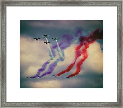 Airshow Framed Print by Martin Newman