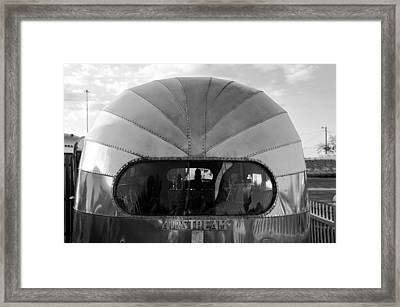 Airstream Dome Framed Print by David Lee Thompson