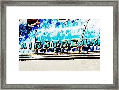 Airstream Framed Print