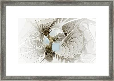 Airy Space2 Framed Print by Karin Kuhlmann