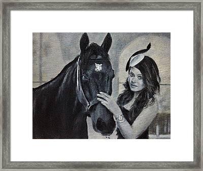 Aishwarya Rai Portrait Framed Print
