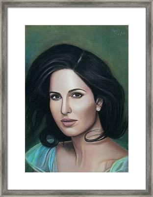 Katrina Kaif - The Wonder Framed Print