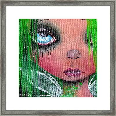 Aislin Framed Print by  Abril Andrade Griffith