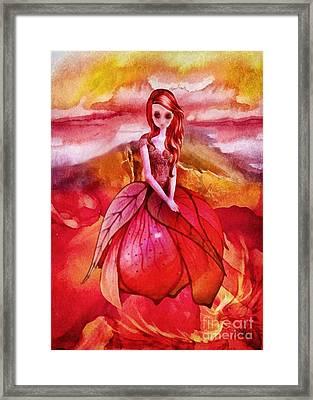 Aithne Framed Print by Mo T