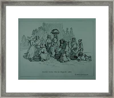 Aix-en-chapelle Framed Print by William Goldsmith