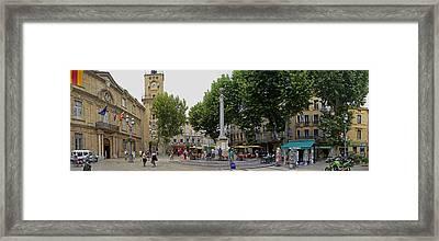 Aix En Provence Framed Print by Gary Lobdell