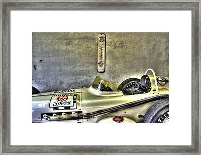 Aj Foyt 1961 Roadster Framed Print