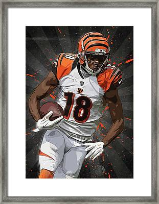 A.j. Green  Framed Print