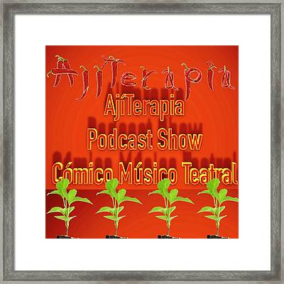 Ajiterapia Podcast Framed Print