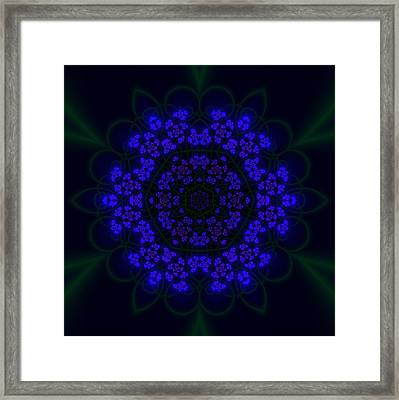 Akabala Lightmandala Framed Print