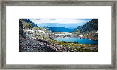 Akaiyan Lake Framed Print