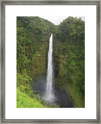 Akaka Falls Framed Print by Phil Stone