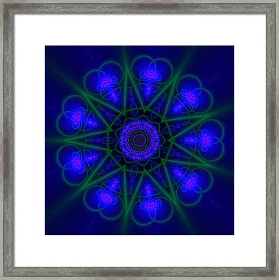 Akbal 9 Beats Framed Print