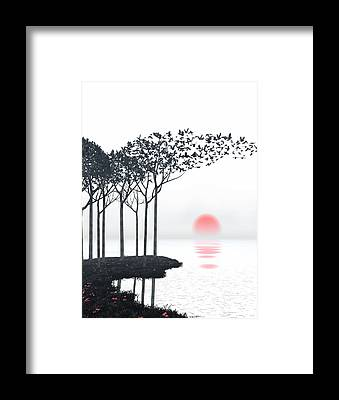 Stark Framed Prints