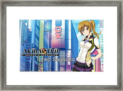 Akiba's Trip Framed Print