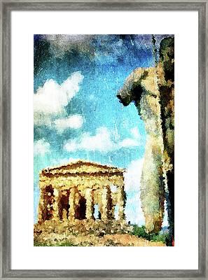 Akragas Framed Print