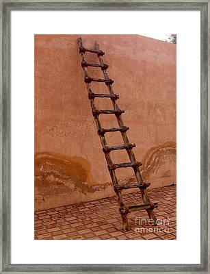 Al Ain Ladder Framed Print