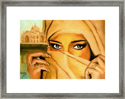 Al-andalus-3 Framed Print by Manuel Sanchez