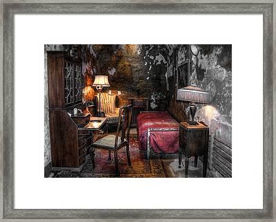Al Capone Cell Framed Print by Svetlana Sewell