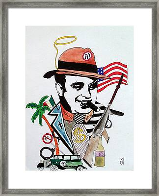Al Capone Framed Print