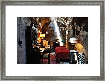 Al Capone's Cell - Eastern State Penitentiary Framed Print by Bill Cannon