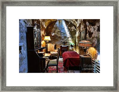 Al Capone's Cell - Scarface - Eastern State Penitentiary Framed Print by Paul Ward