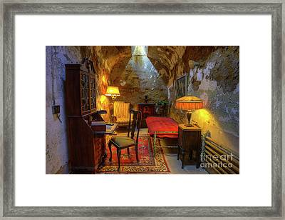 Al Capones Jail Cell Framed Print