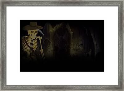 Al Emmo And The Lost Dutchman's Mine Framed Print