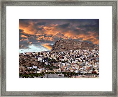 Al Hoceima - Morocco Framed Print by Anthony Dezenzio