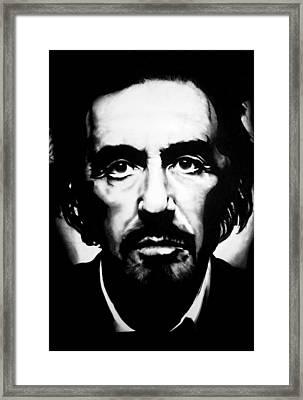 Al Pacino Framed Print by Brian Curran