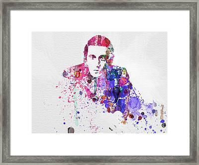 Al Pacino Framed Print by Naxart Studio