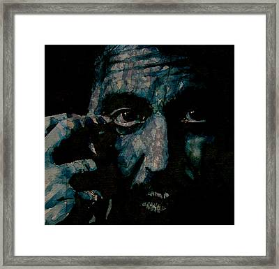 Al Pacino Framed Print by Paul Lovering