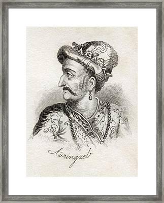 Al-sultan Al-azam Wal Khaqan Framed Print by Vintage Design Pics