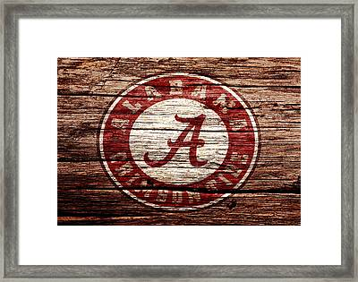 Alabama Crimson Tide 1a Framed Print by Brian Reaves
