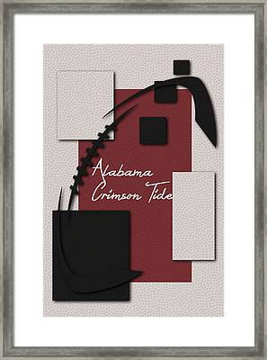 Alabama Crimson Tide Art Framed Print by Joe Hamilton