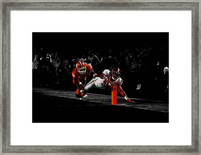 Alabama Football Framed Print by Brian Reaves