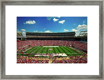 Alabama Football - Spring Game Framed Print by Mountain Dreams