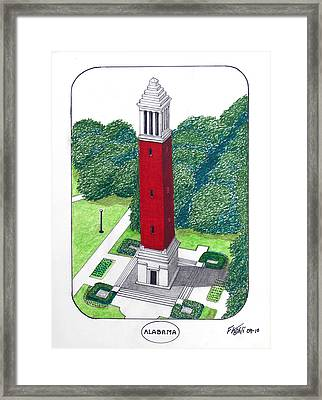 Alabama Framed Print