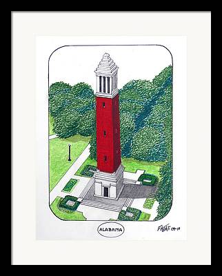 Denny Chimes Mixed Media Framed Prints