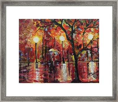 Alabama Rainy Night Framed Print