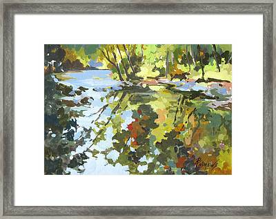 Alabama Reflections Framed Print