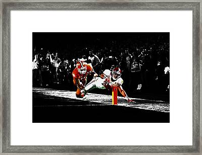 Alabama Scores Framed Print by Brian Reaves