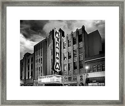 Alabama Theatre Framed Print by Steven Michael