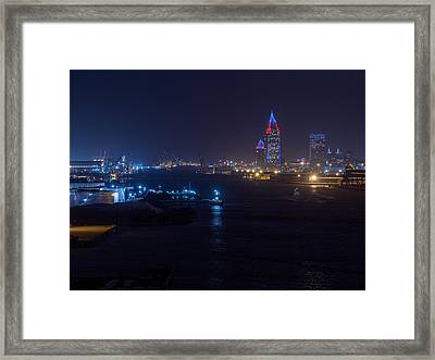 Alabama's Port City Framed Print