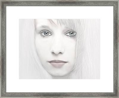 Alabaster-face Framed Print by Joachim G Pinkawa
