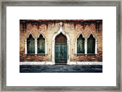 Aladdin's Doorway Framed Print