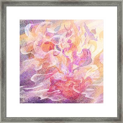 Aladdin's Lamp Framed Print by Rachel Christine Nowicki
