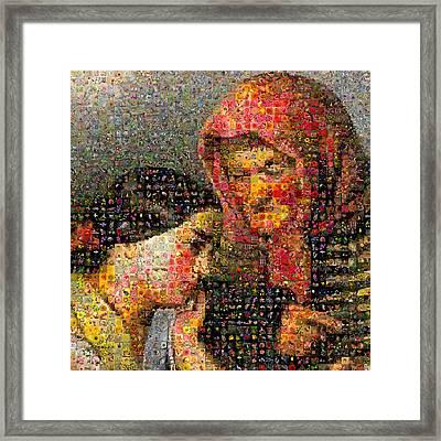 Alajos Giergl - Consolation Framed Print by Gilberto Viciedo