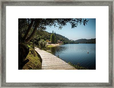 Framed Print featuring the photograph Alamal Beach by Carlos Caetano